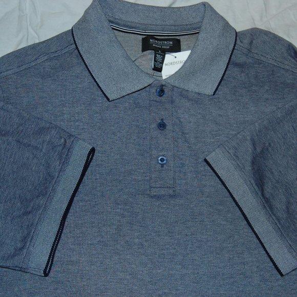 Nordstrom Men's Shop NWT Cotton Polo, Large